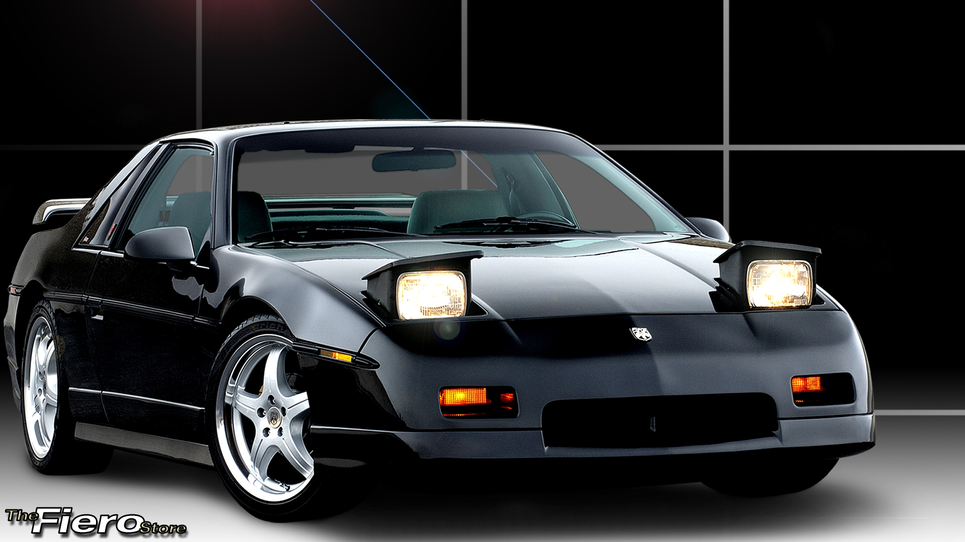 The Fiero Store Pontiac Dashboard Search Terms Font